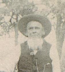 Jesse Graham, son of John Graham and Mary Pennington, husband of Martha Jane Fanning