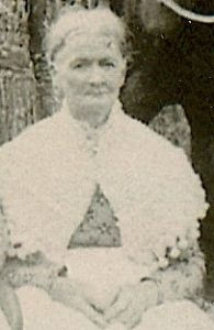 Martha Jane Fanning, daughter of Middleton Fanning and Delphia Ann Moore, wife of Jesse Graham